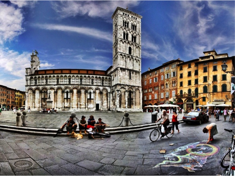 Lucca - Piazza San Michele