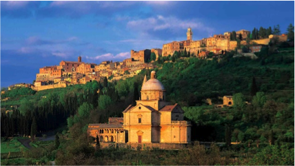 Montepulciano - Tempio di San Biagio
