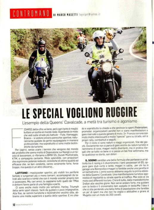 Motosprint settimanale di motociclismo