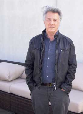 Dustin Hoffman wears Brema
